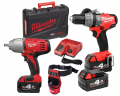 ZESTAW MILWAUKEE M18 CPD-402X + HD18 HIWF-0