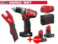 ZESTAW MILWAUKEE M12 CPD-402X FUEL + M12 C12PC-0