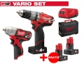 ZESTAW MILWAUKEE M12 CPD-402X FUEL + M12 BIW38-0