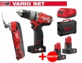 ZESTAW MILWAUKEE M12 CPD-402X FUEL + M12 C12MT-0