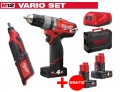 ZESTAW MILWAUKEE M12 CPD-402X FUEL + M12 C12RT-0