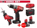 ZESTAW MILWAUKEE M12 CPD-402X FUEL + M12 C12HZ-0