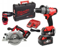 ZESTAW MILWAUKEE M18 CPD-402X + HD18 CS-0