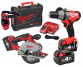 ZESTAW MILWAUKEE M18 CPD-402X + HD18 MS-0