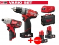 ZESTAW MILWAUKEE M12 CPD-402X FUEL + M12 BID-0