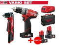 ZESTAW MILWAUKEE M12 CPD-402X FUEL + M12 C12RAD-0